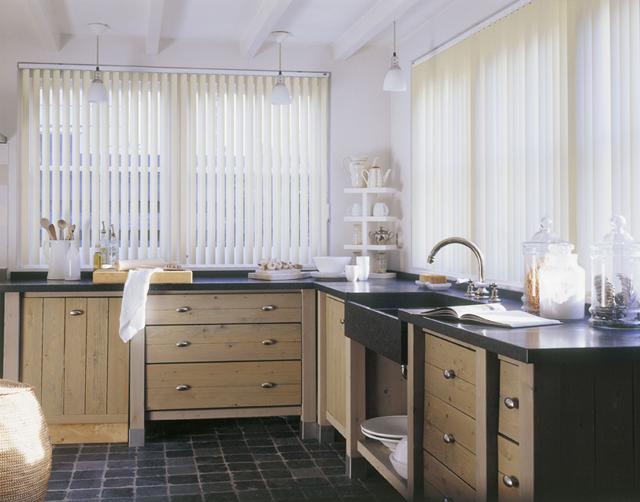 Lamellenvorhang for Fensterformen modern